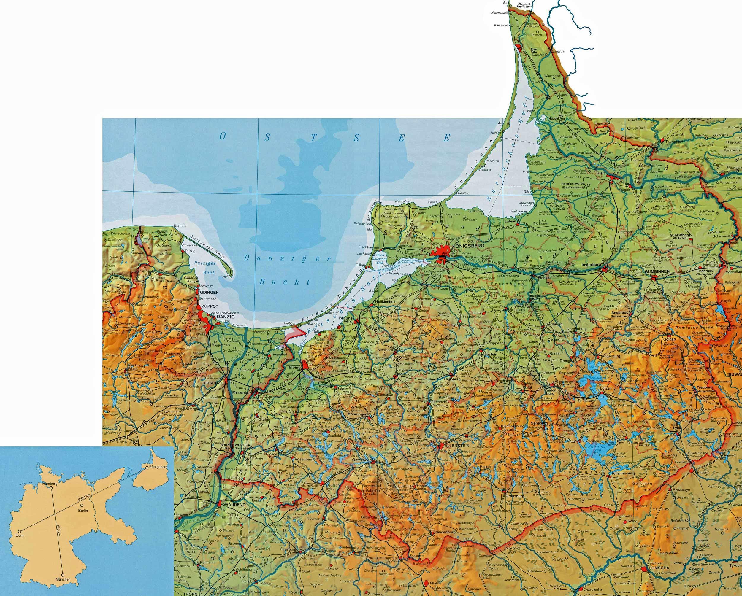 karte ostpreußen Ostpreußen karte ostpreußen
